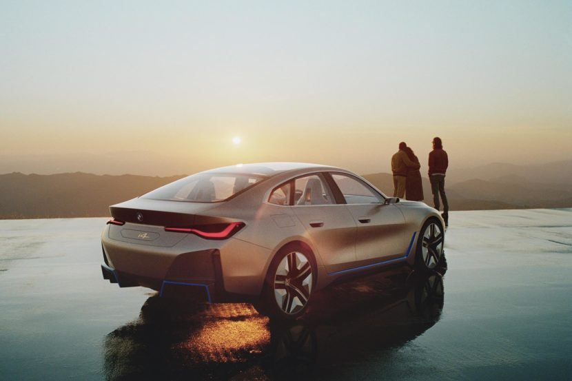 BMW Concept i4 revealed in first videos and commercials