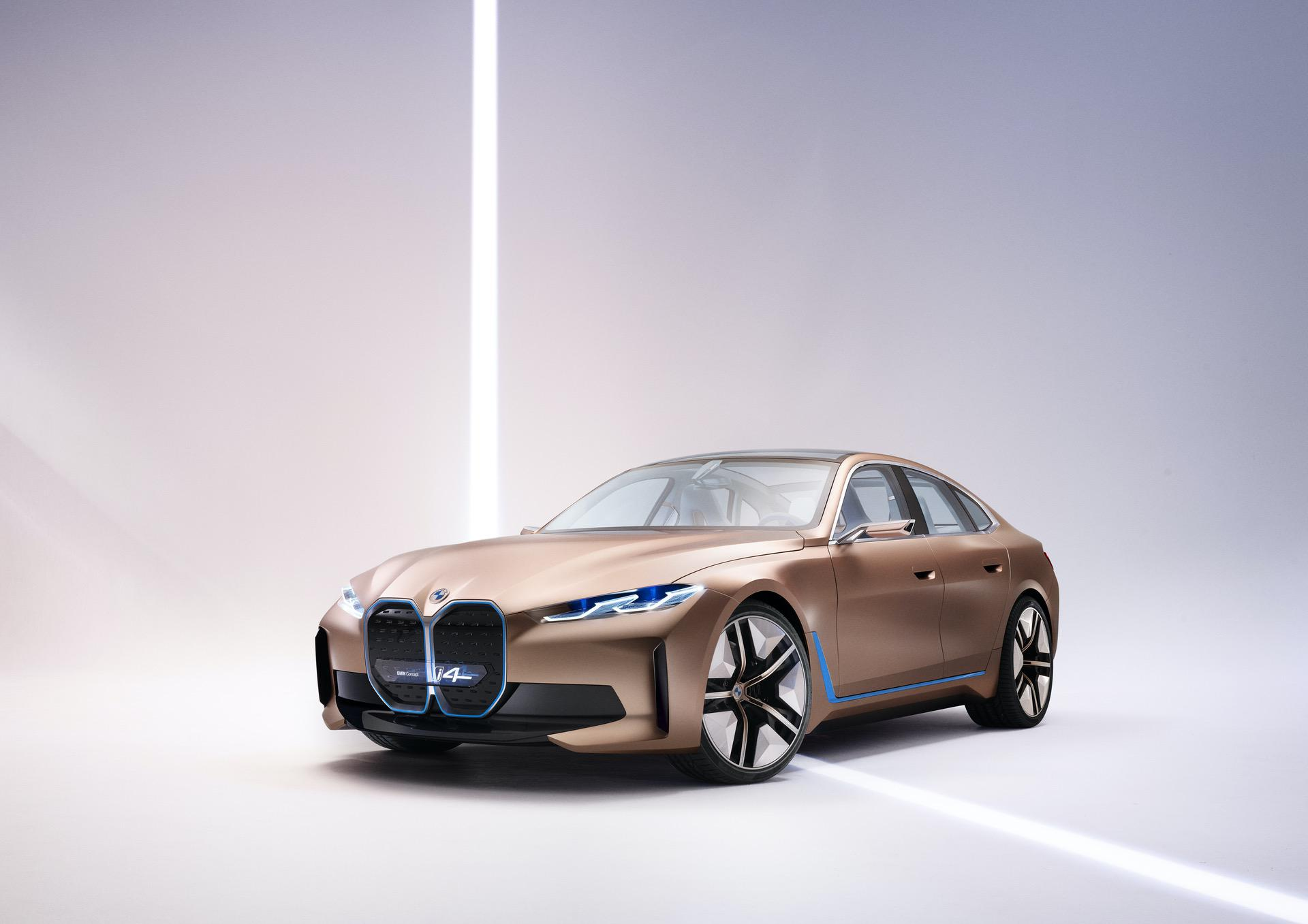 SPIED: Upcoming BMW i4 Caught Juicing at the EV Bar