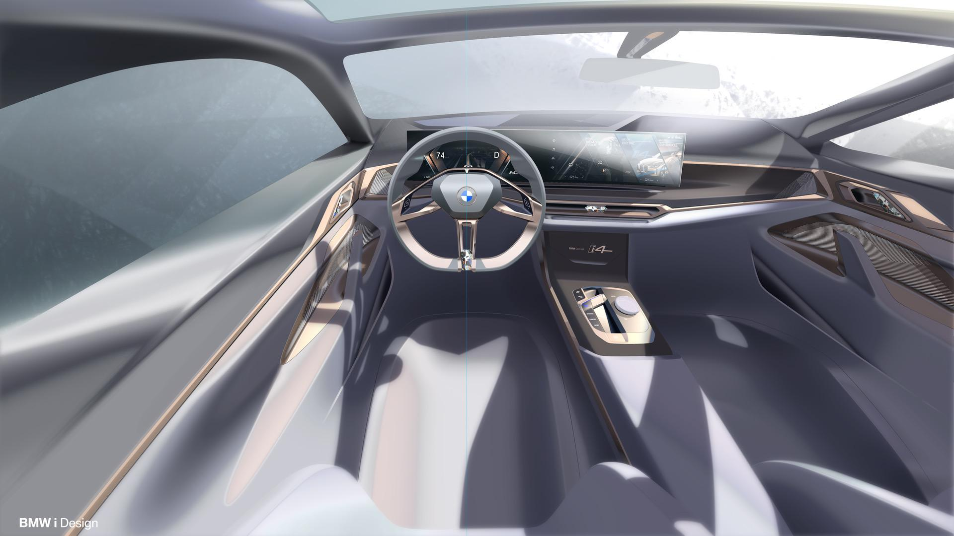 World Premiere The Bmw Concept I4 Electric Gran Coupe