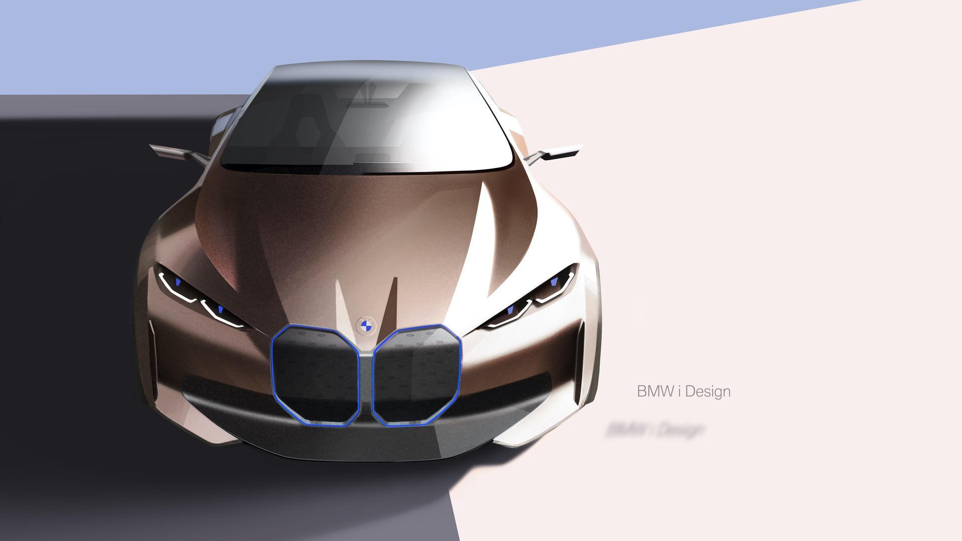 BMW Concept i4 sketches 14
