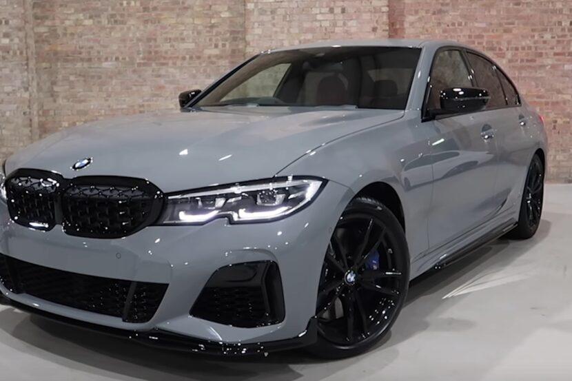 BMW M340i Nardo Grey 830x553