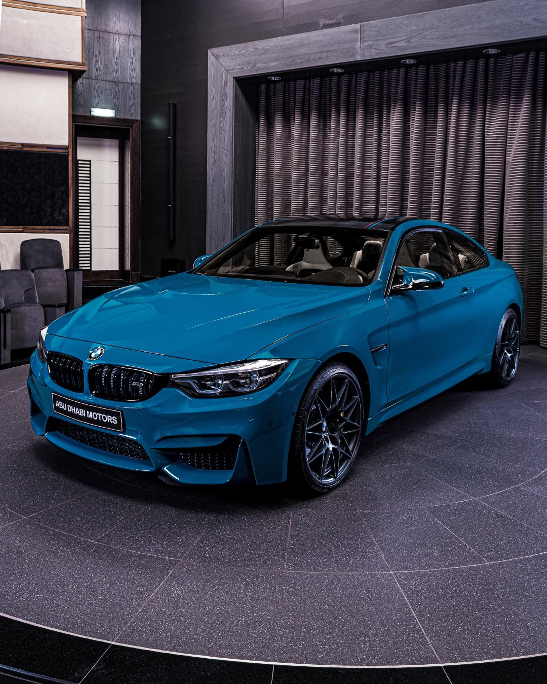 Bmw M4 Edition M Heritage Is Presented In Laguna Seca Blue