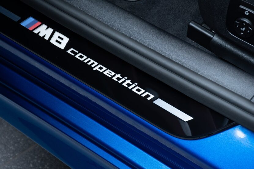 BMW M8 Competition Gran Coupe F93 featured in Sonic Speed Blue 18 830x553