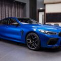 BMW M8 Competition Gran Coupe F93 featured in Sonic Speed Blue 7 120x120