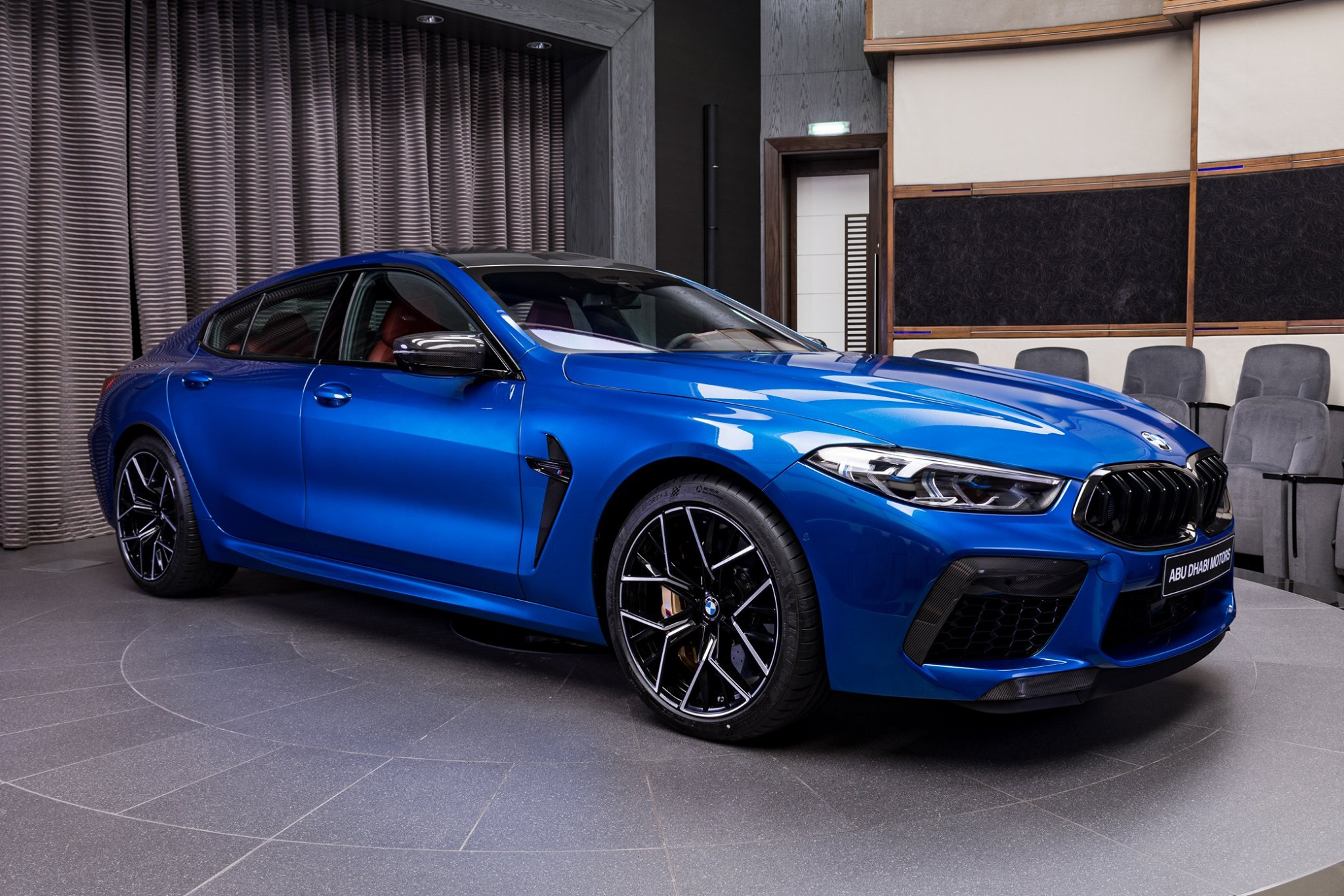 BMW M8 Competition Gran Coupe F93 featured in Sonic Speed Blue 7