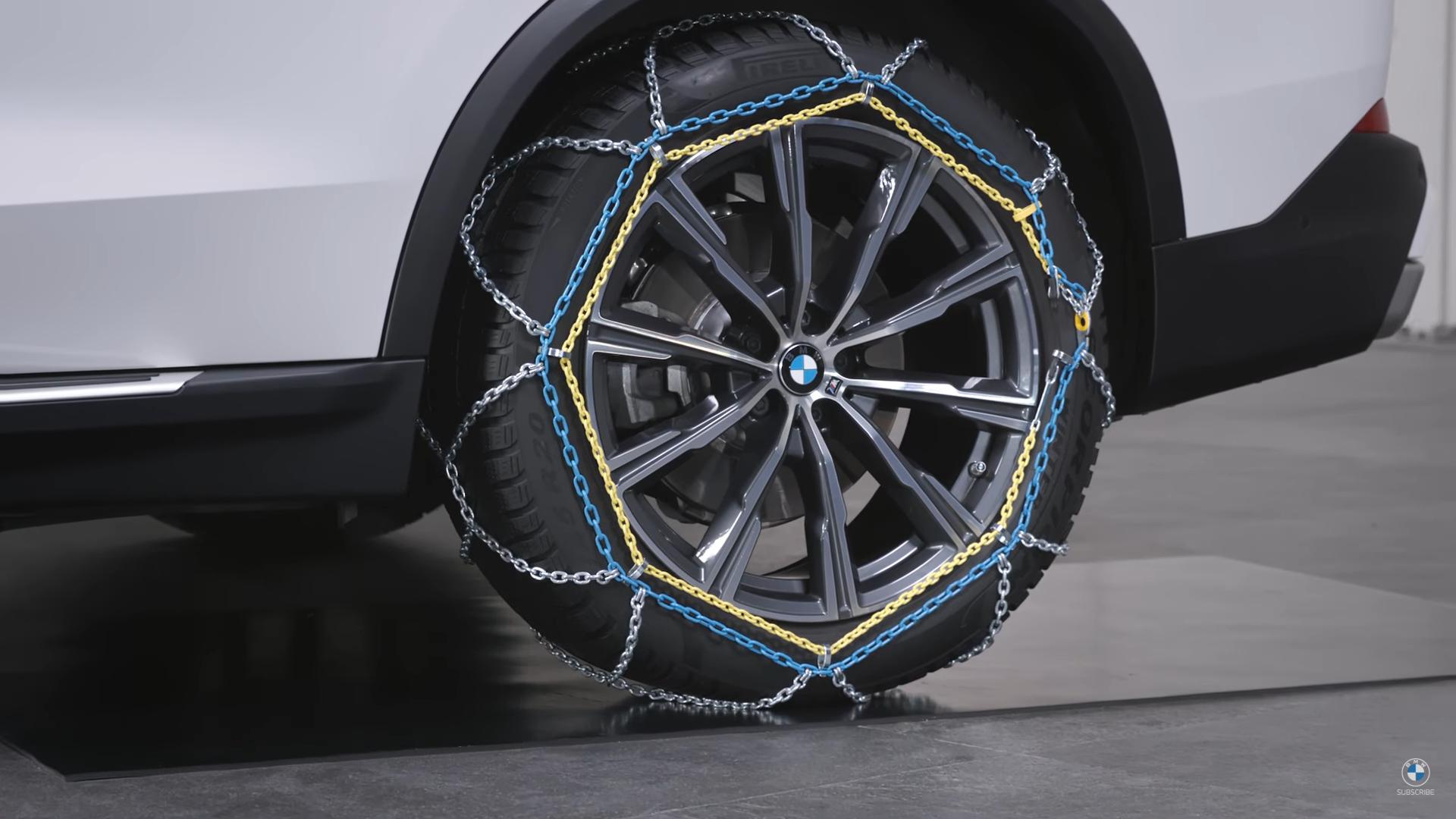 BMW Snow Chains Comfort 2
