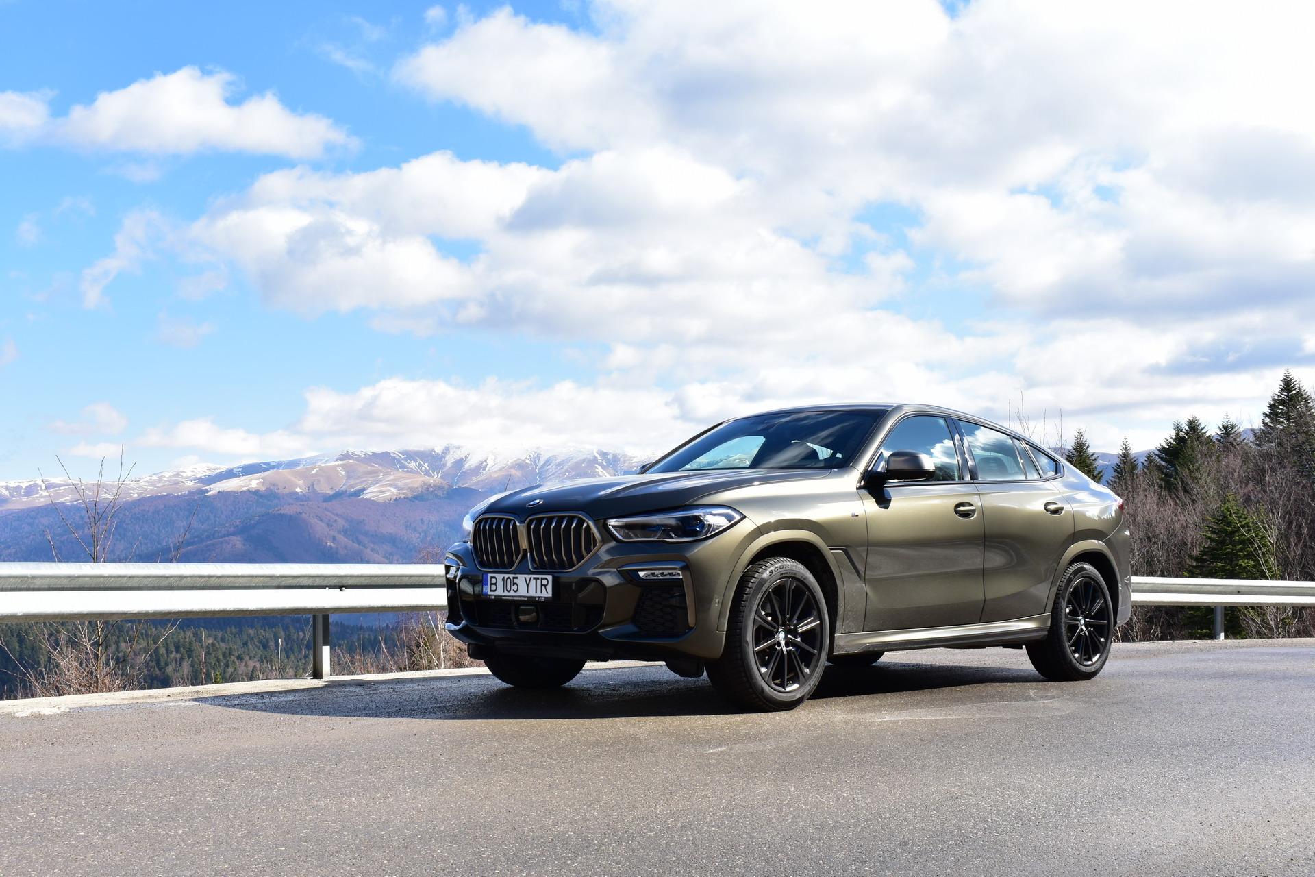 BMW X6 M50d TEST DRIVE RO SET 2 2