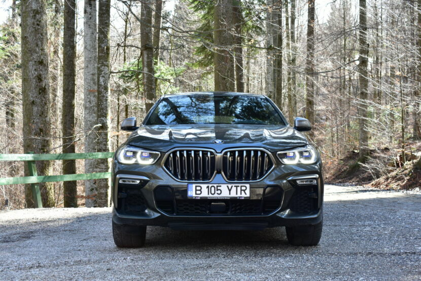 BMW X6 M50d TEST DRIVE RO SET 3 4 830x553