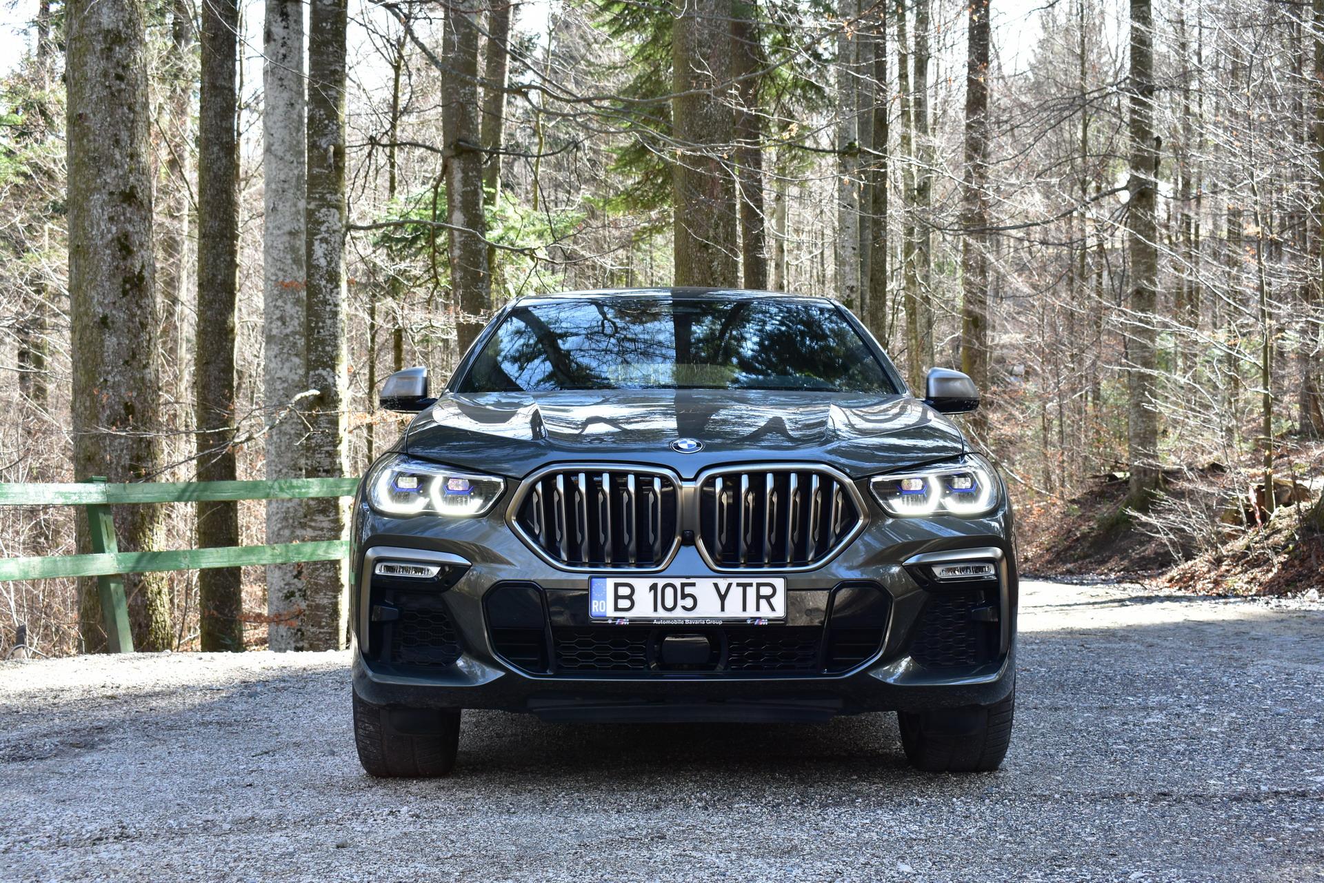 BMW X6 M50d TEST DRIVE RO SET 3 4