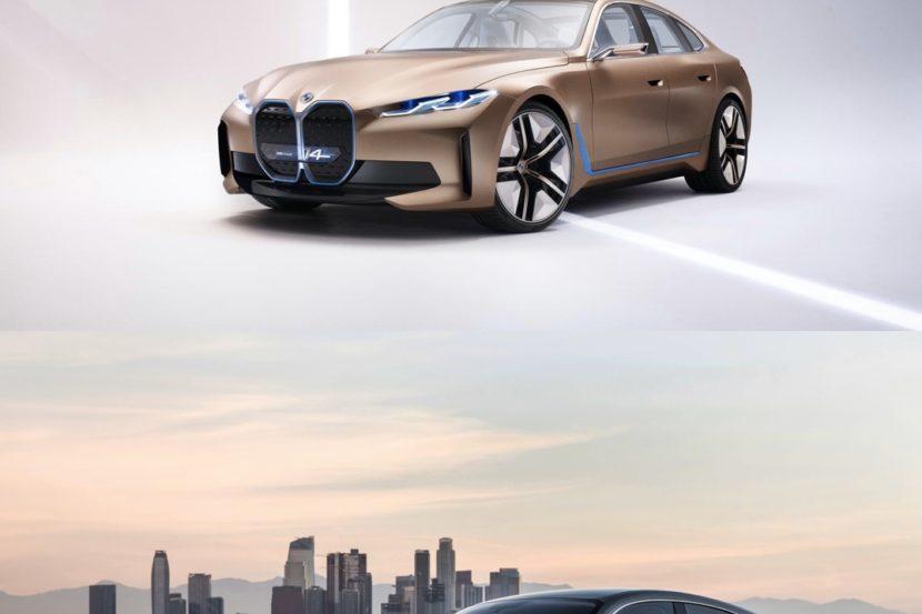 BMW i4 Audi etron gt 830x553
