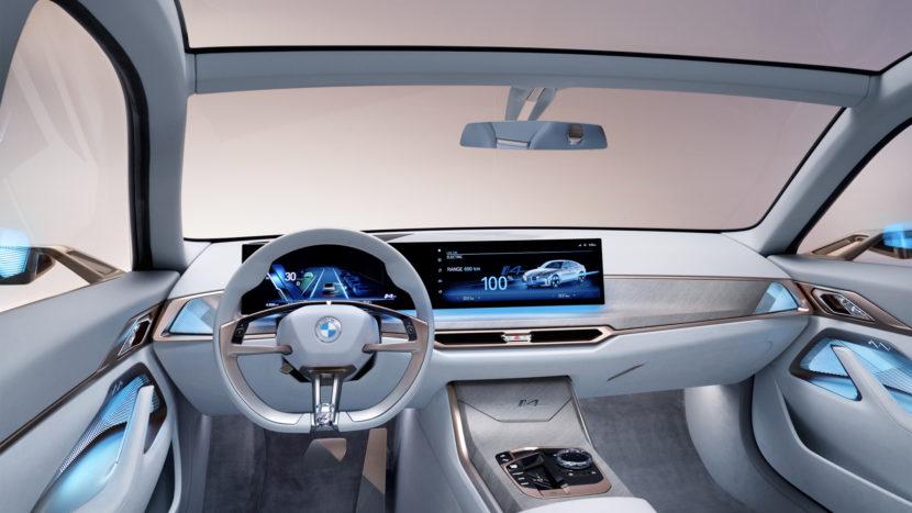 BMW i4 Concept vs Tesla Model 3 Performance 1 2 830x467