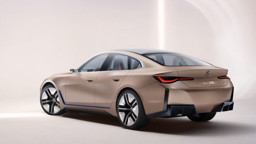 BMW i4 Concept vs Tesla Model 3 Performance 2 830x467