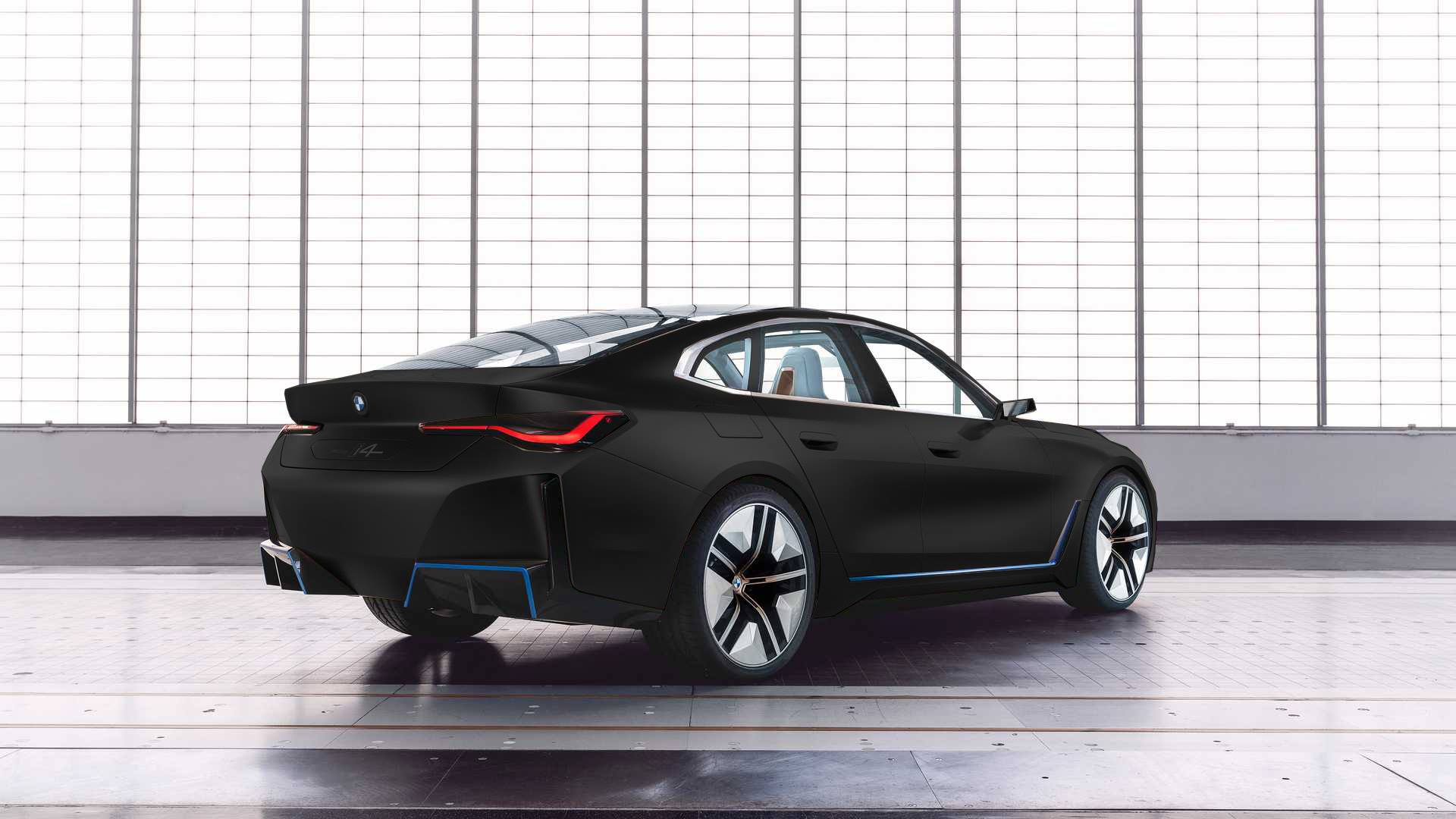 Bmw Concept I4 What Would Be Your Favorite Color