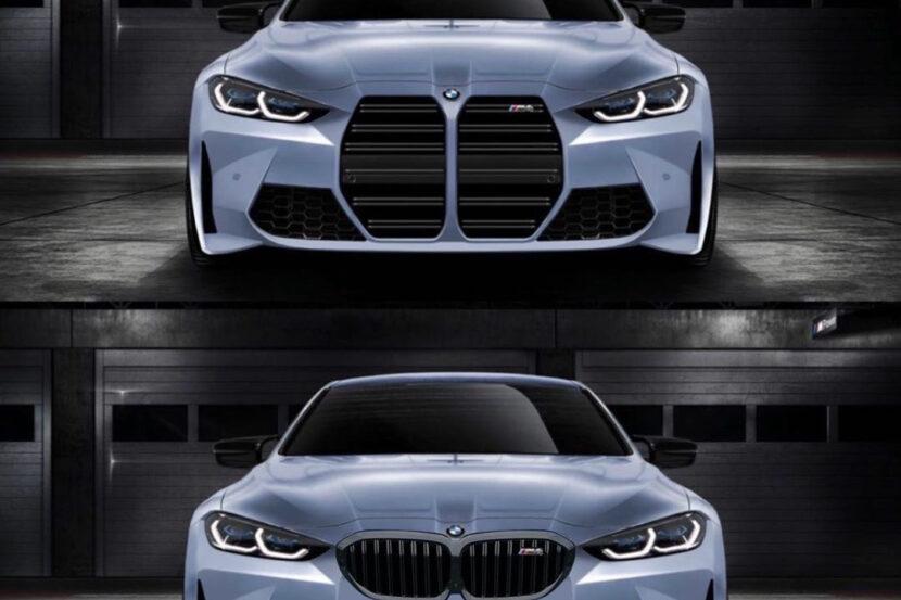 BMW m4 rendering kidney grille 830x553
