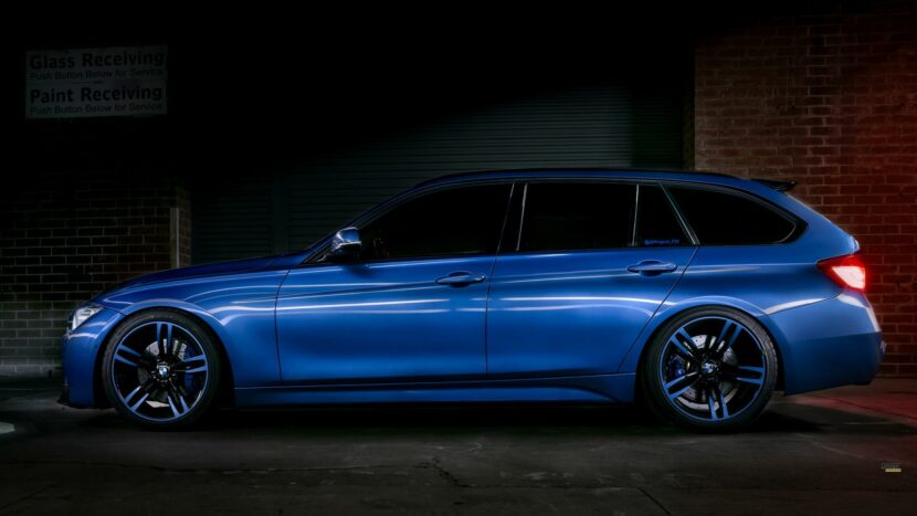 Estoril Blue II BMW 328D X Drive Wagon 03 830x467