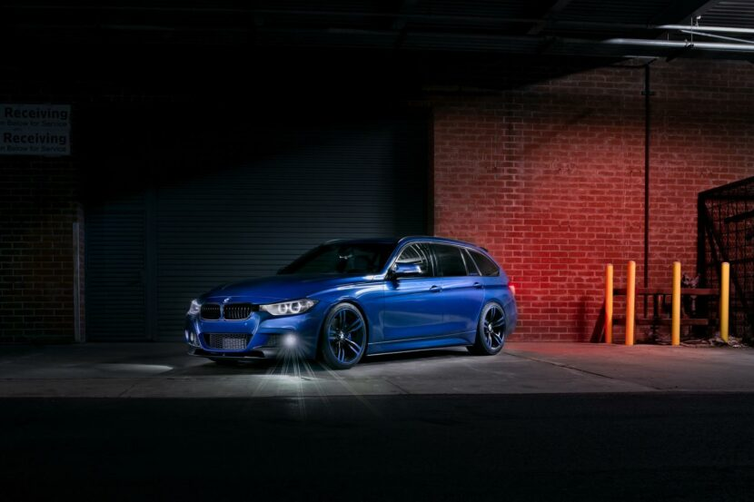 Estoril Blue II BMW 328D X Drive Wagon 07 830x553