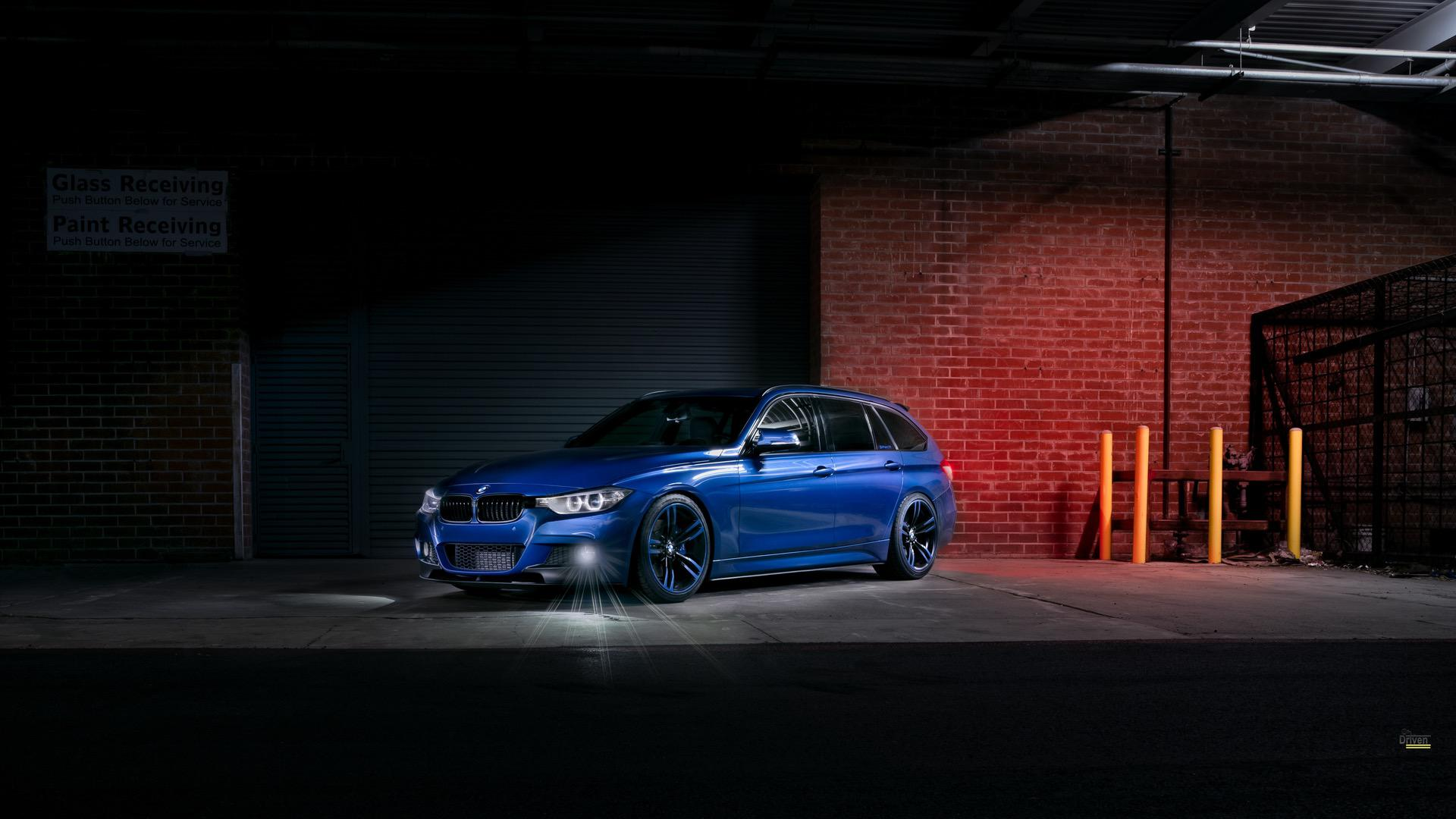 Estoril Blue II BMW 328D X Drive Wagon 07