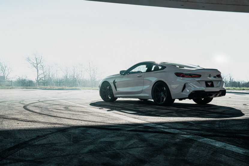 Ferrada FR7 wheels for the BMW M8 Competition Coupe 7 830x554