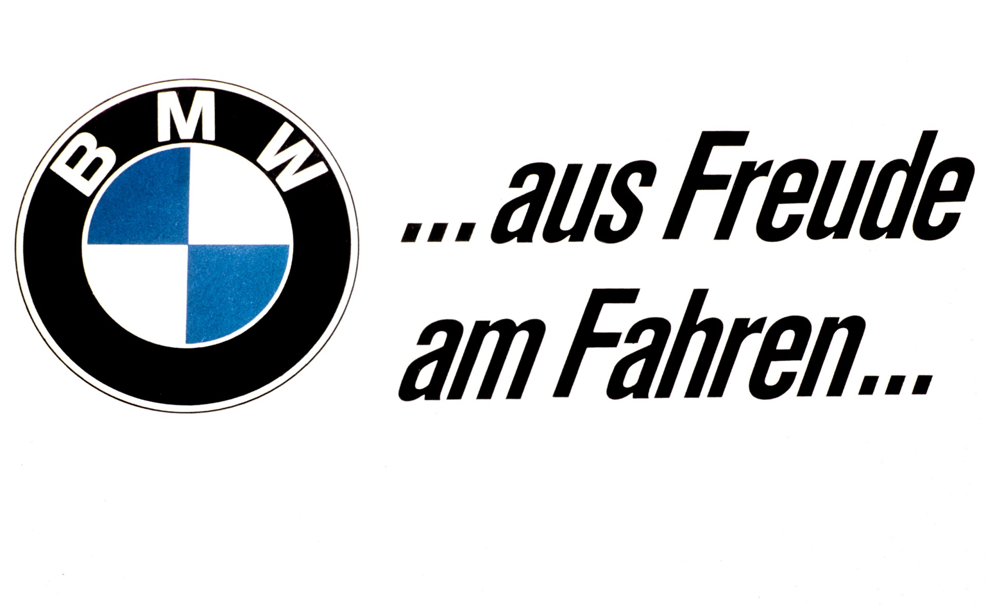 """Fifty Five years of """"Freude am Fahren"""": the quintessential BMW slogan"""