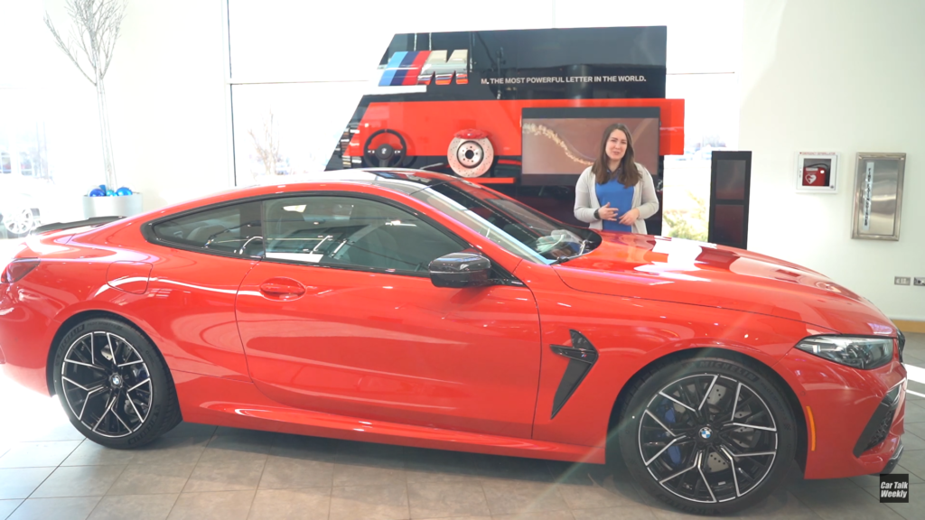 VIDEO: Check out this BMW M8 Competition in Ferrari's Rosso Corsa