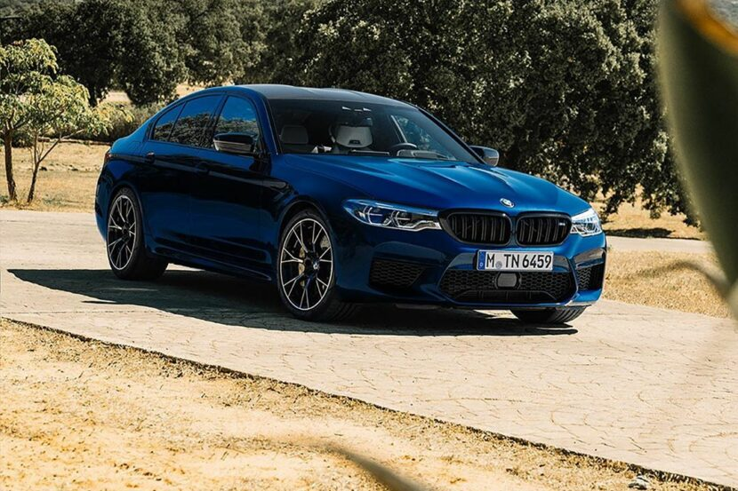 The BMW M5 Competition in Le Mans Blue 3 830x553