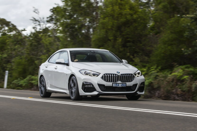 The new BMW 2 Series Gran Coupe AU Debut 31 830x553
