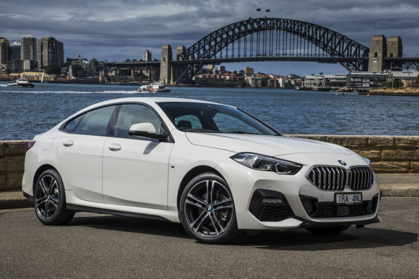 The new BMW 218i Gran Coupe AU Model 2 830x553