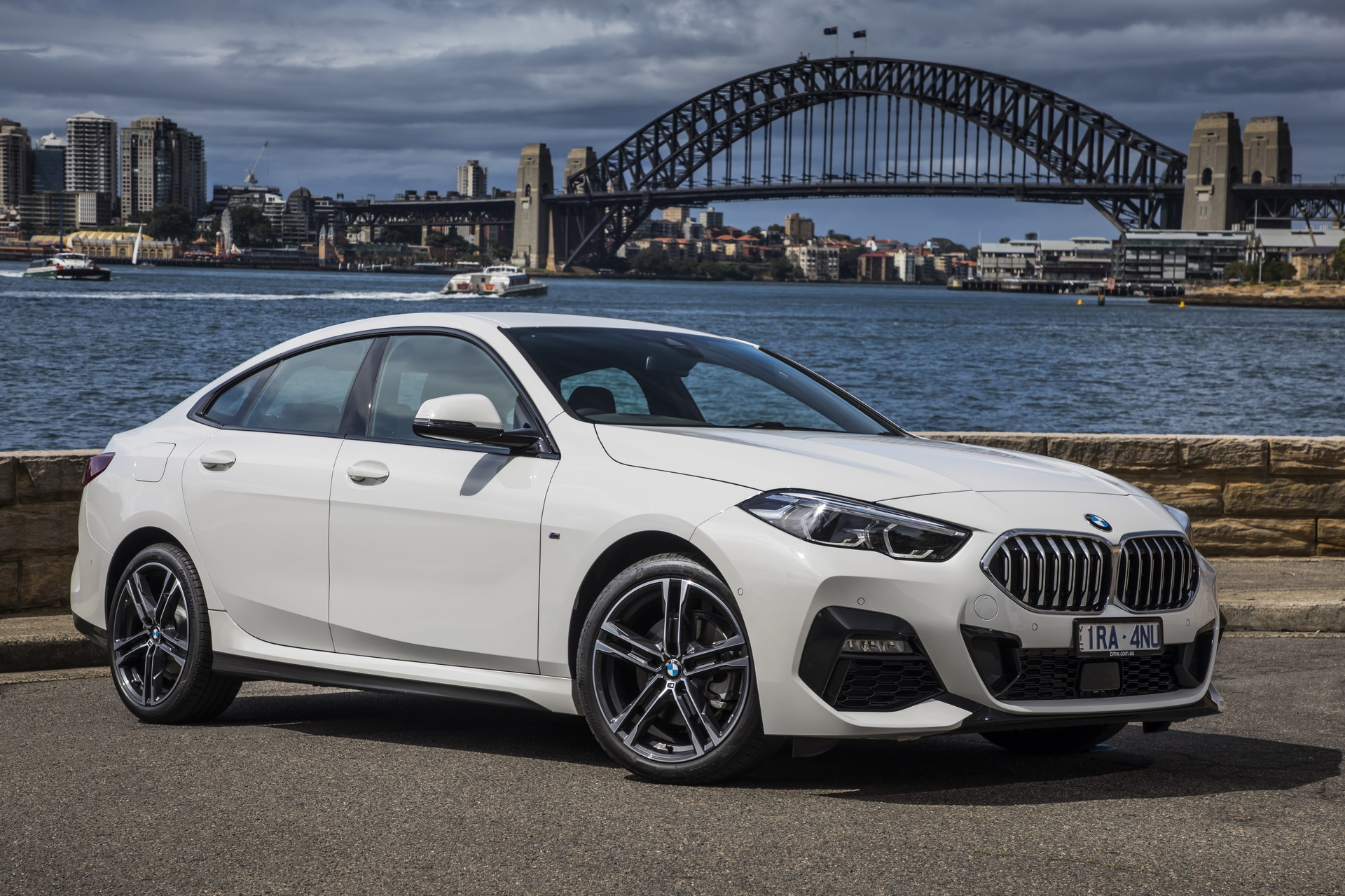The new BMW 218i Gran Coupe AU Model 2