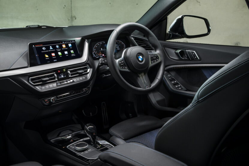 The new BMW 218i Gran Coupe AU Model 26 830x553