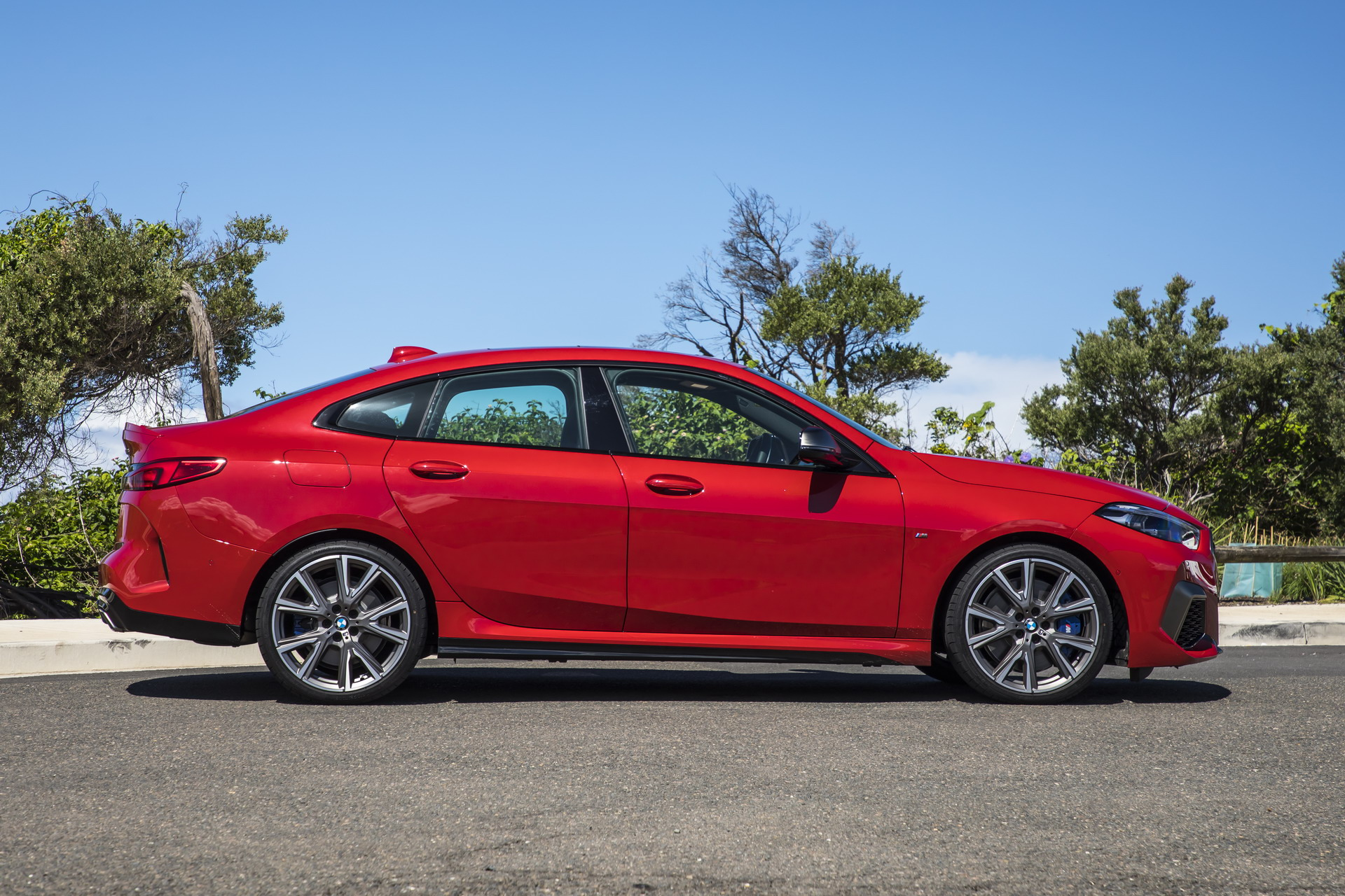 The new BMW M235i xDrive Gran Coupe AU Model 27