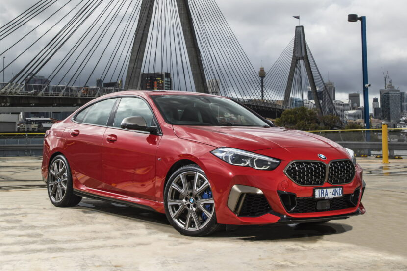 The new BMW M235i xDrive Gran Coupe AU Model 3 830x553