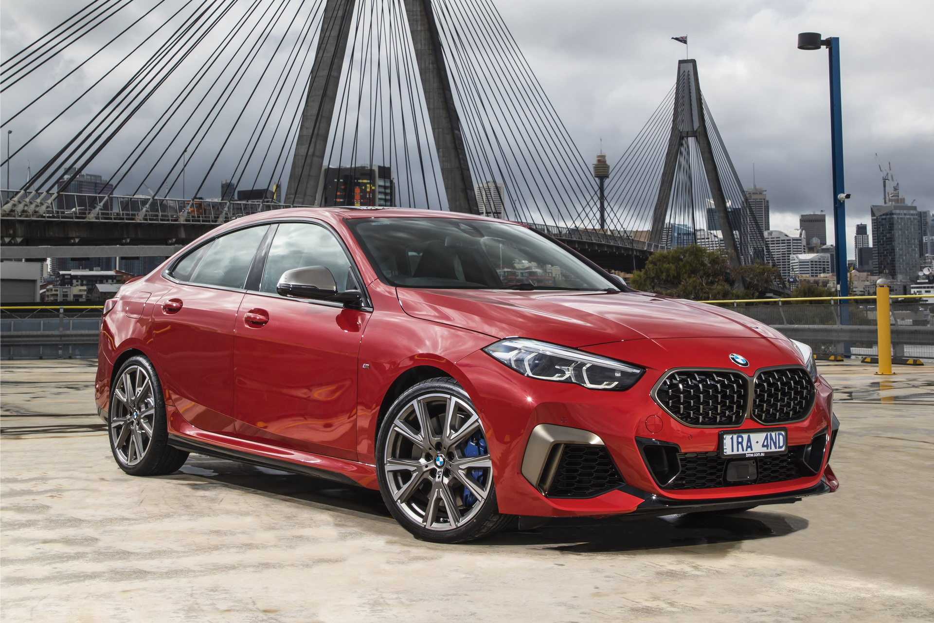 The new BMW M235i xDrive Gran Coupe AU Model 3