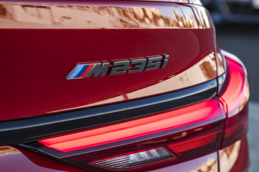 The new BMW M235i xDrive Gran Coupe AU Model 41 830x553