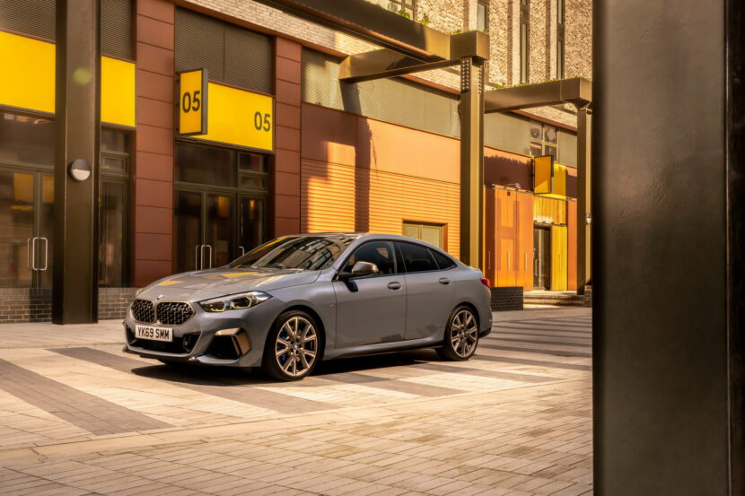 The new BMW M235i xDrive Gran Coupe F44 UK 13 830x553