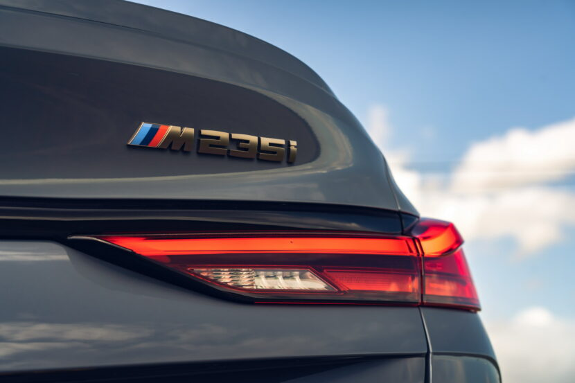 The new BMW M235i xDrive Gran Coupe F44 UK 41 830x553