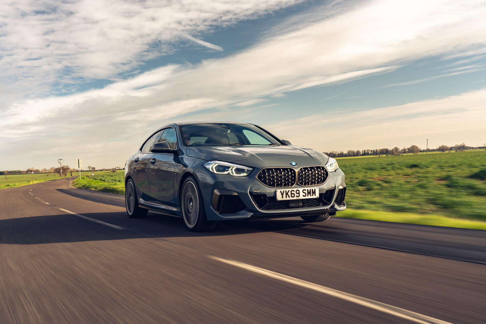 The new BMW M235i xDrive Gran Coupe F44 UK 43