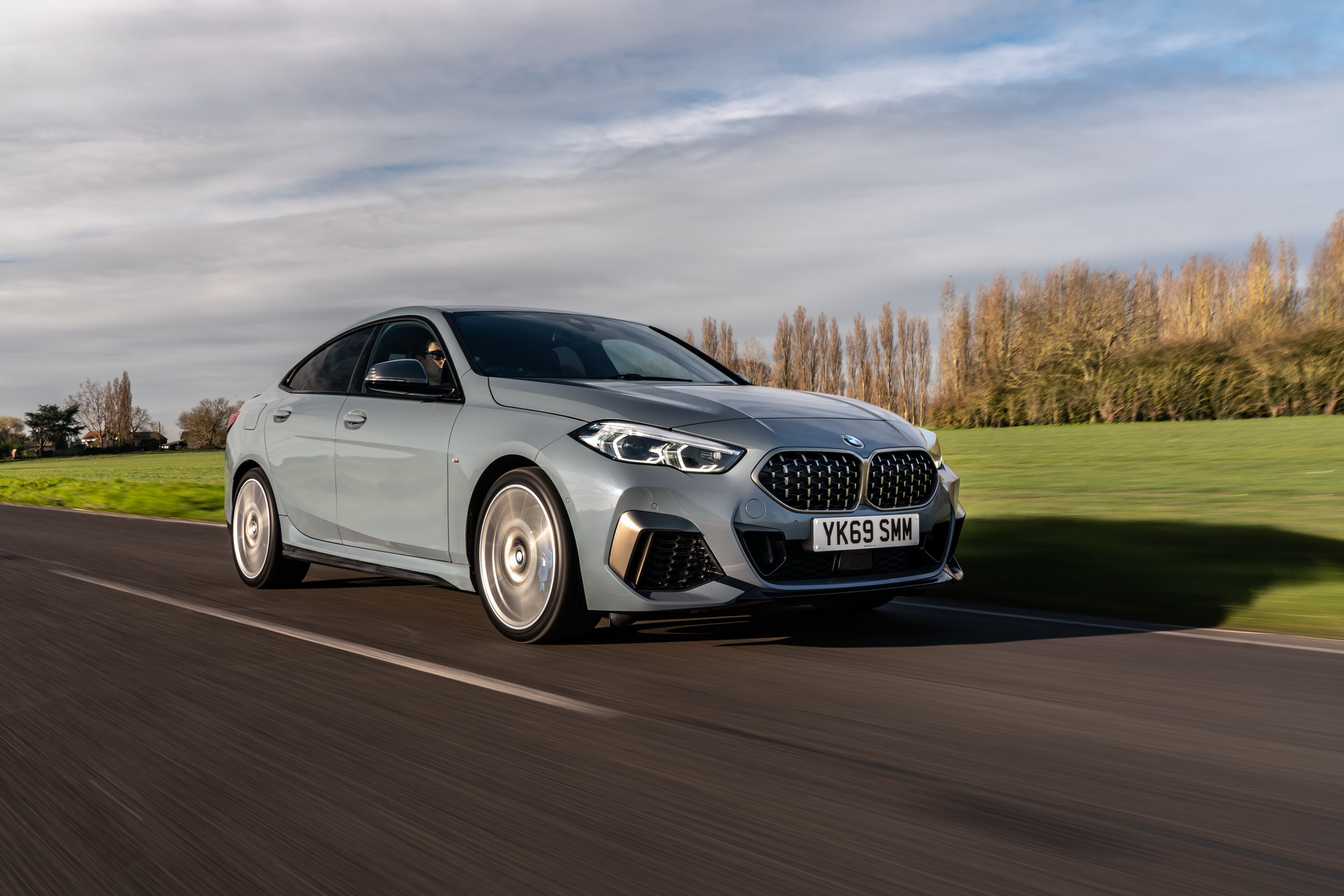 The new BMW M235i xDrive Gran Coupe F44 UK 45