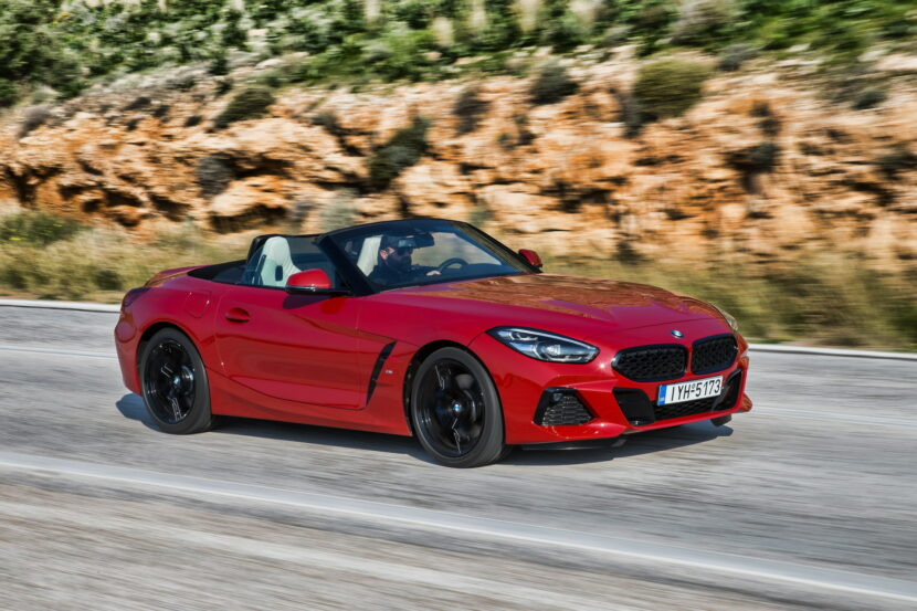 The new BMW Z4 sDrive20i Greece 46 830x553