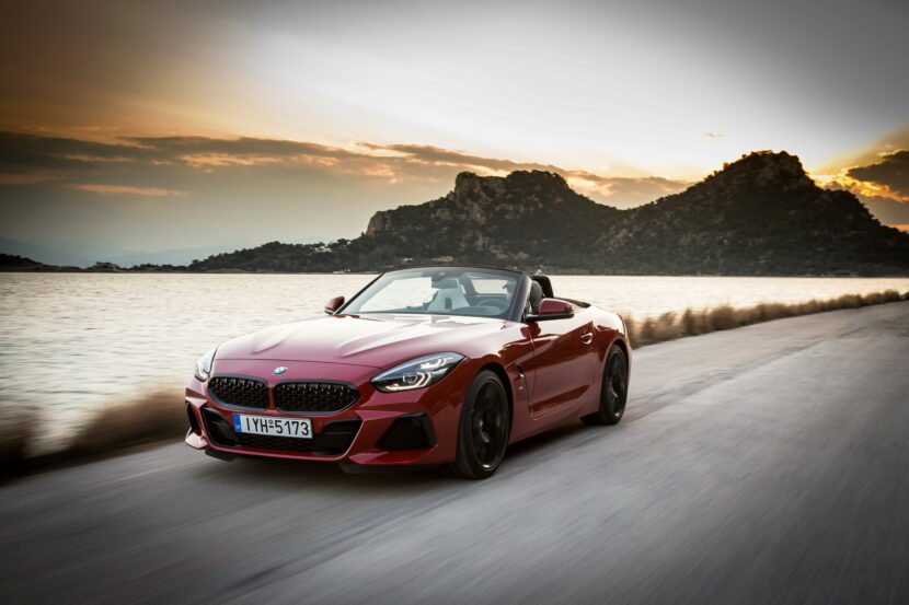 The new BMW Z4 sDrive20i Greece 55 830x553