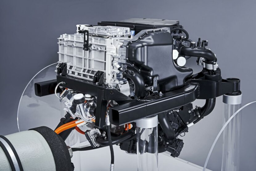 powertrain for the BMW i Hydrogen NEXT 03 830x554
