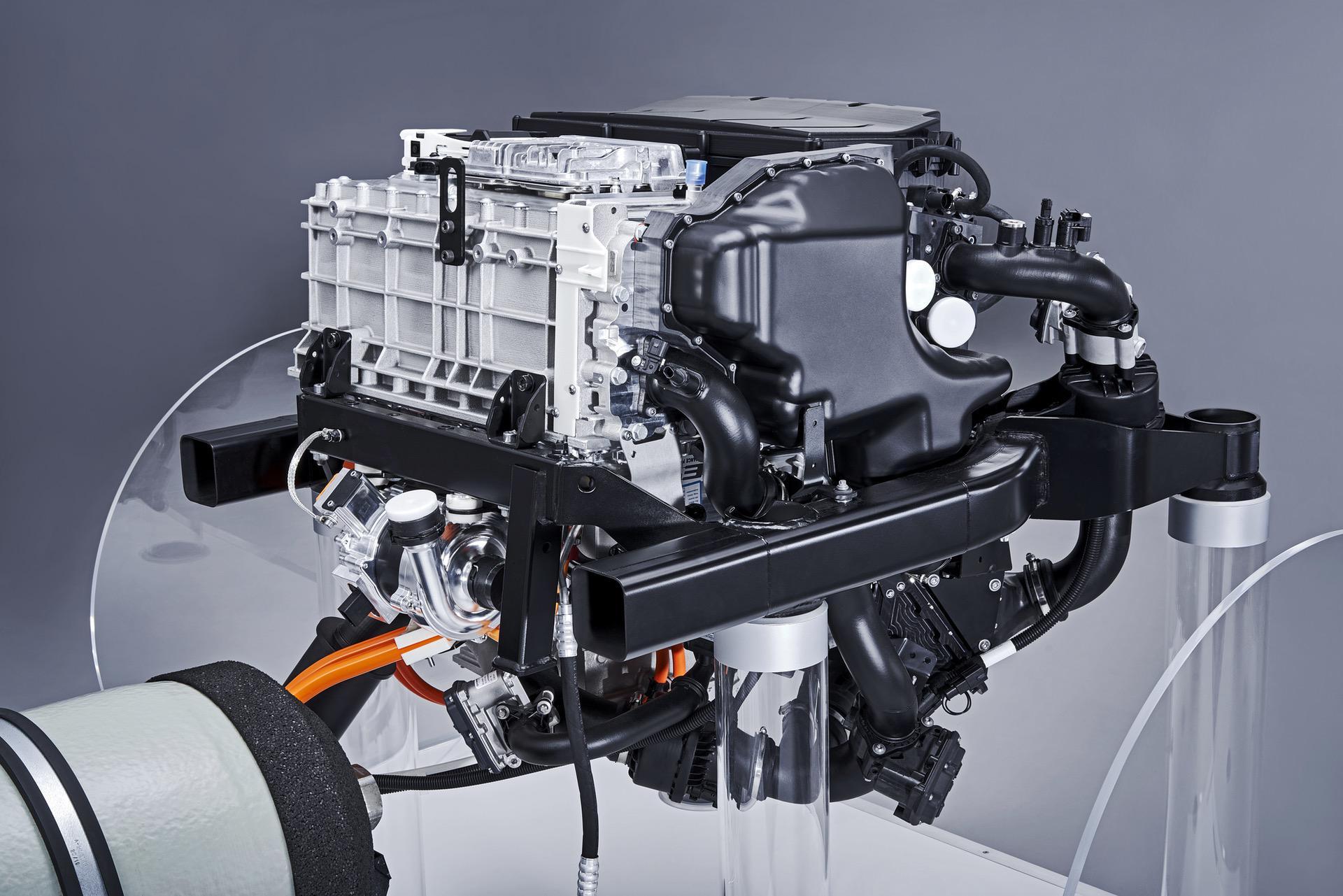 powertrain for the BMW i Hydrogen NEXT 03
