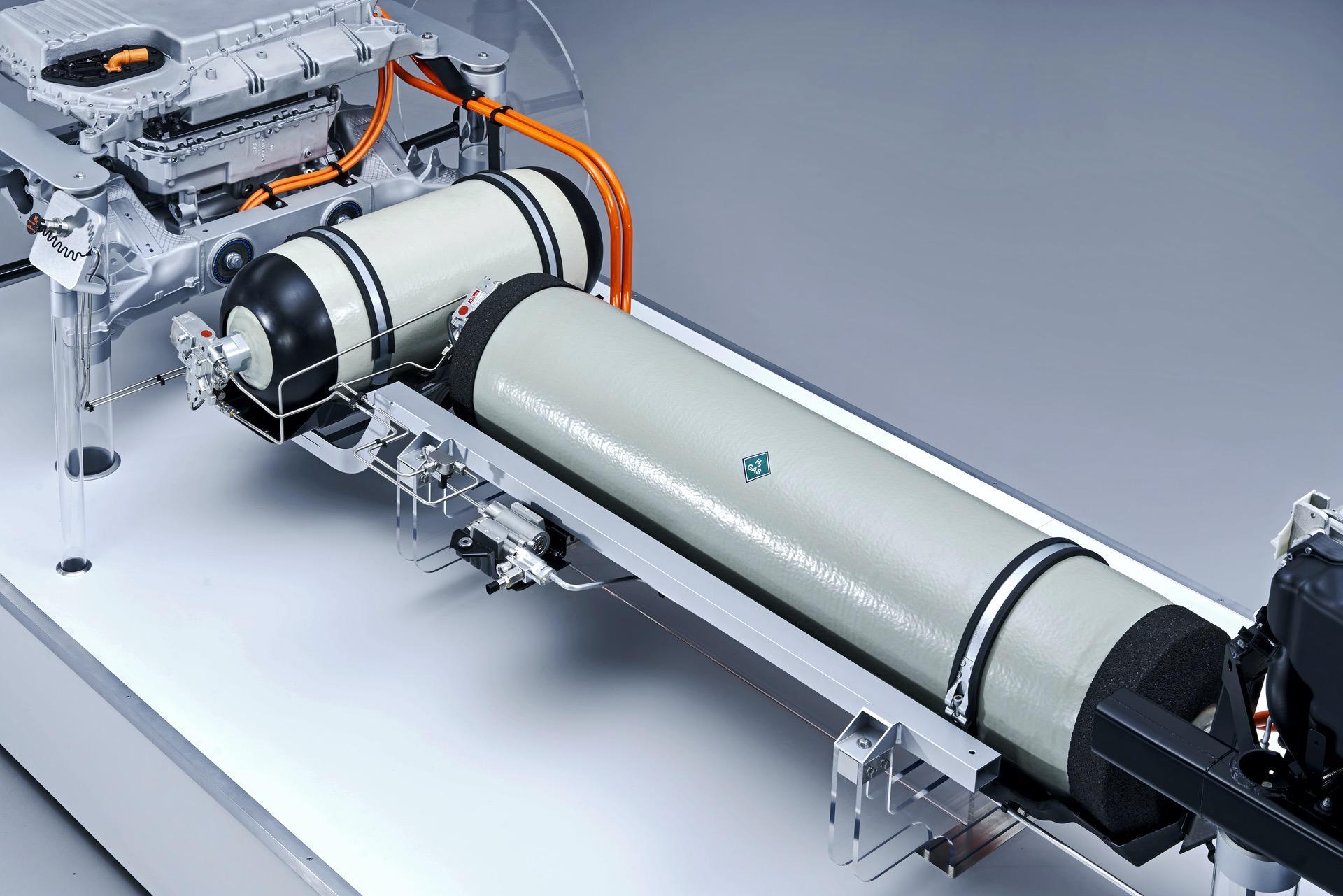 powertrain for the BMW i Hydrogen NEXT 09