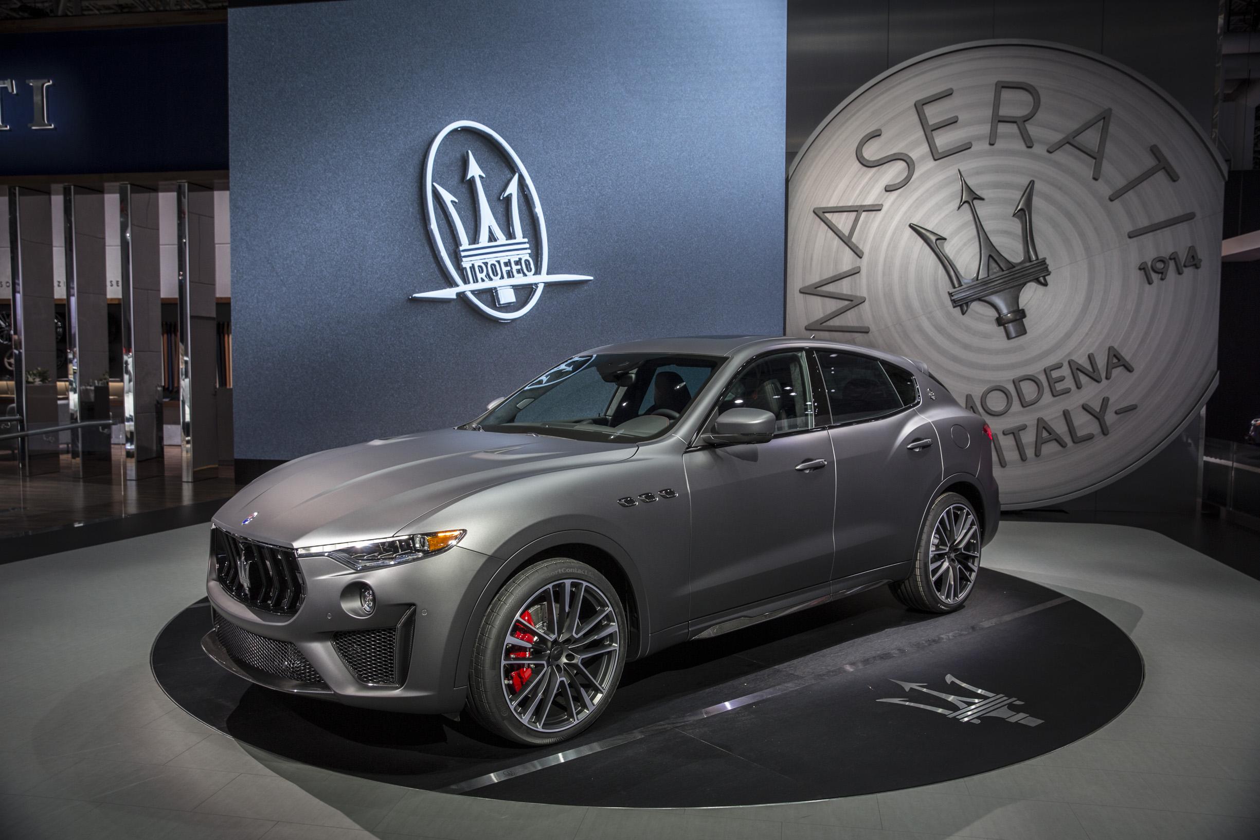 14353 MaseratiLevanteTrofeoatNYMotorShow2018