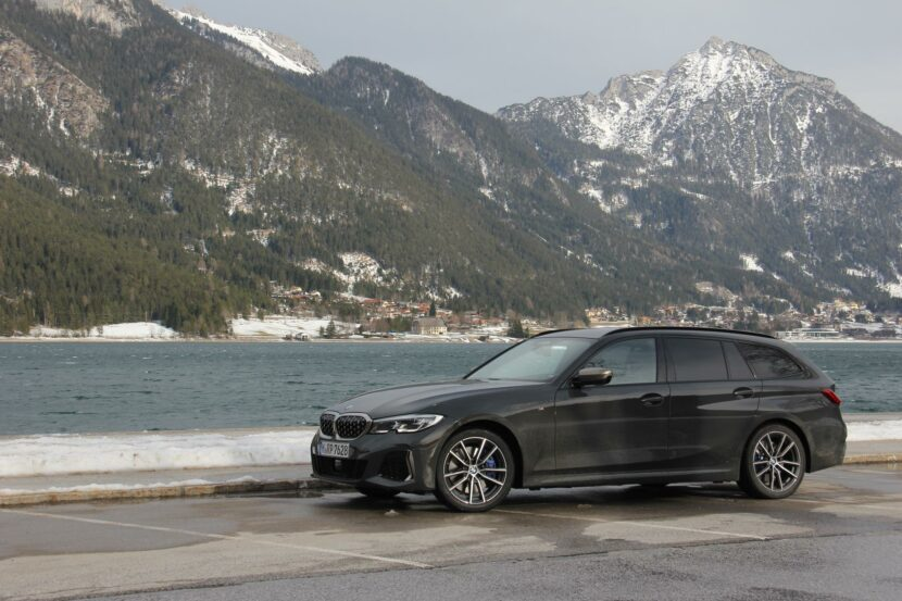2020 BMW M340i Touring test drive 32 830x553