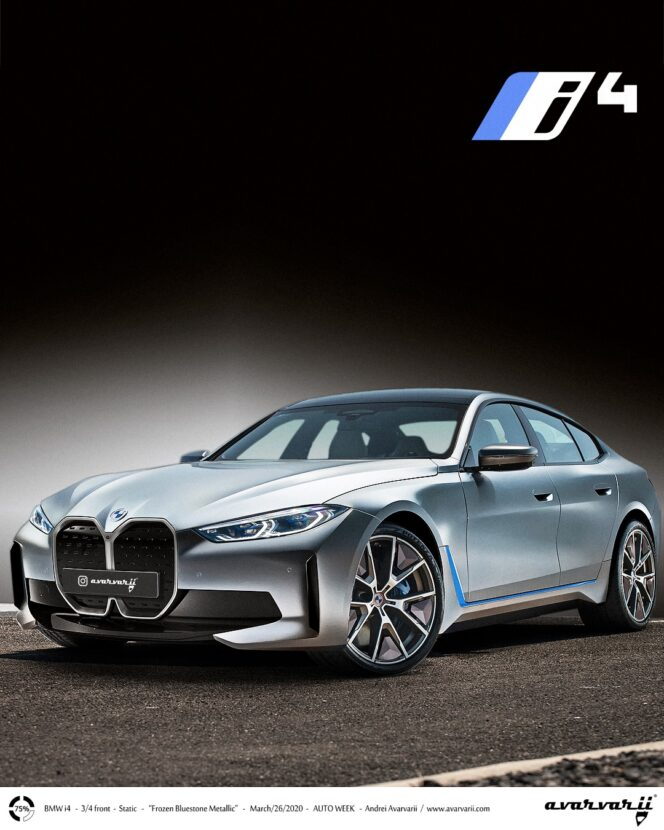 upcoming 2021 bmw i4 looks great in this new rendering