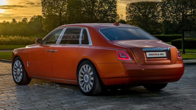 2021 rolls royce ghost gets accurately rendered 1 830x467