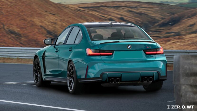 2022 bmw m3 rendering rear end 00 830x467
