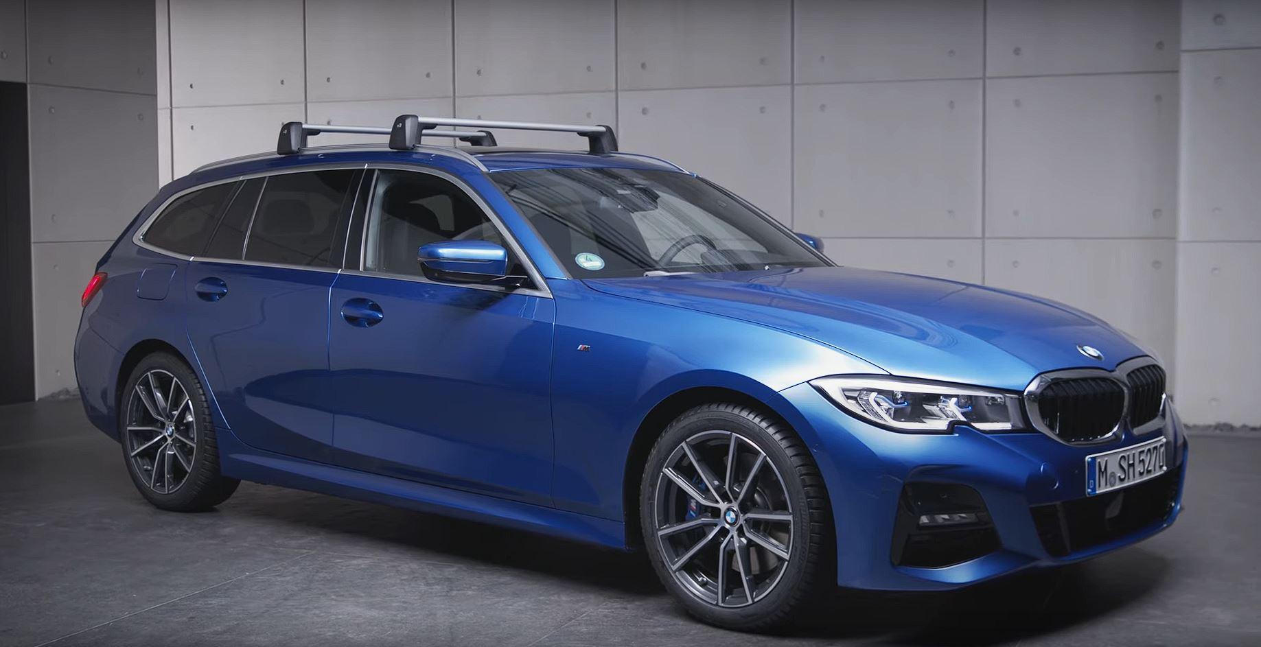 3 series touring roof railings