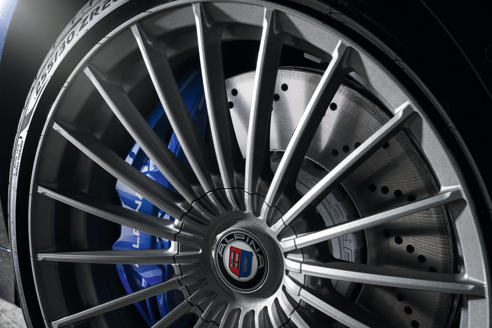 The Principle Of 20 Spokes History Of The Alpina Wheel Design