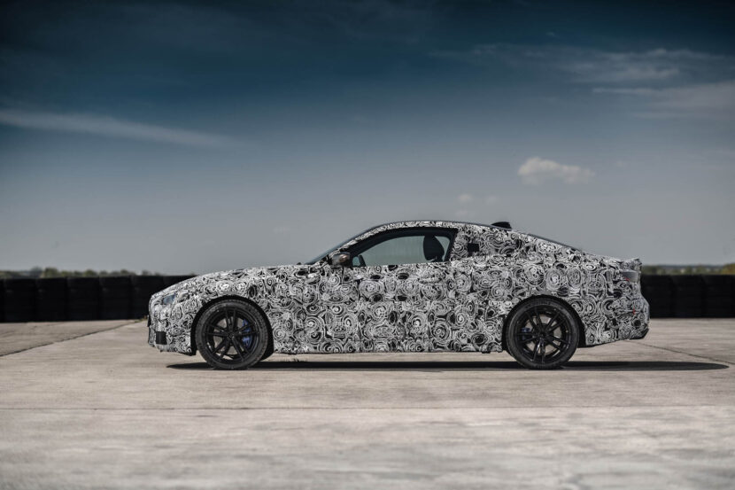 BMW 4 Series Prototype 34 830x553